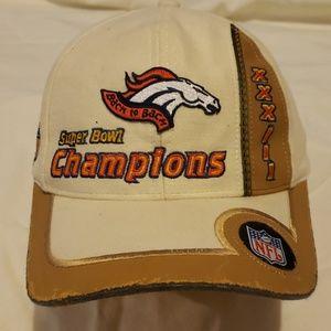 Broncos back 2 back Superbowl hat.